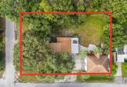 Lot Aerial Marked