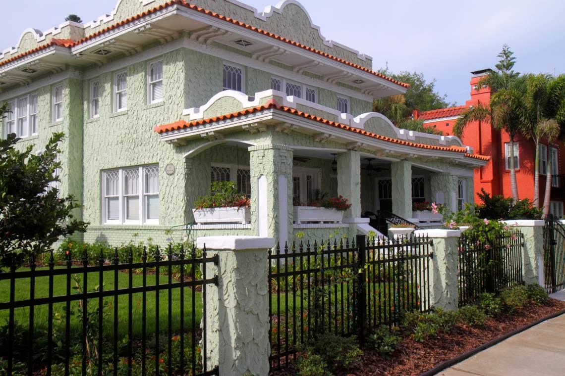 Spanish-style Home in Historic Old Northeast Neighborhoood