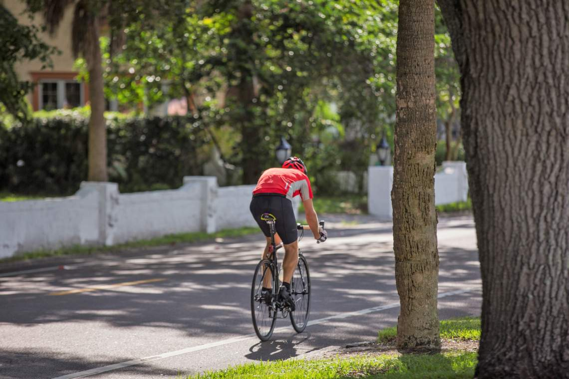 Biking in Historic Old Northeast