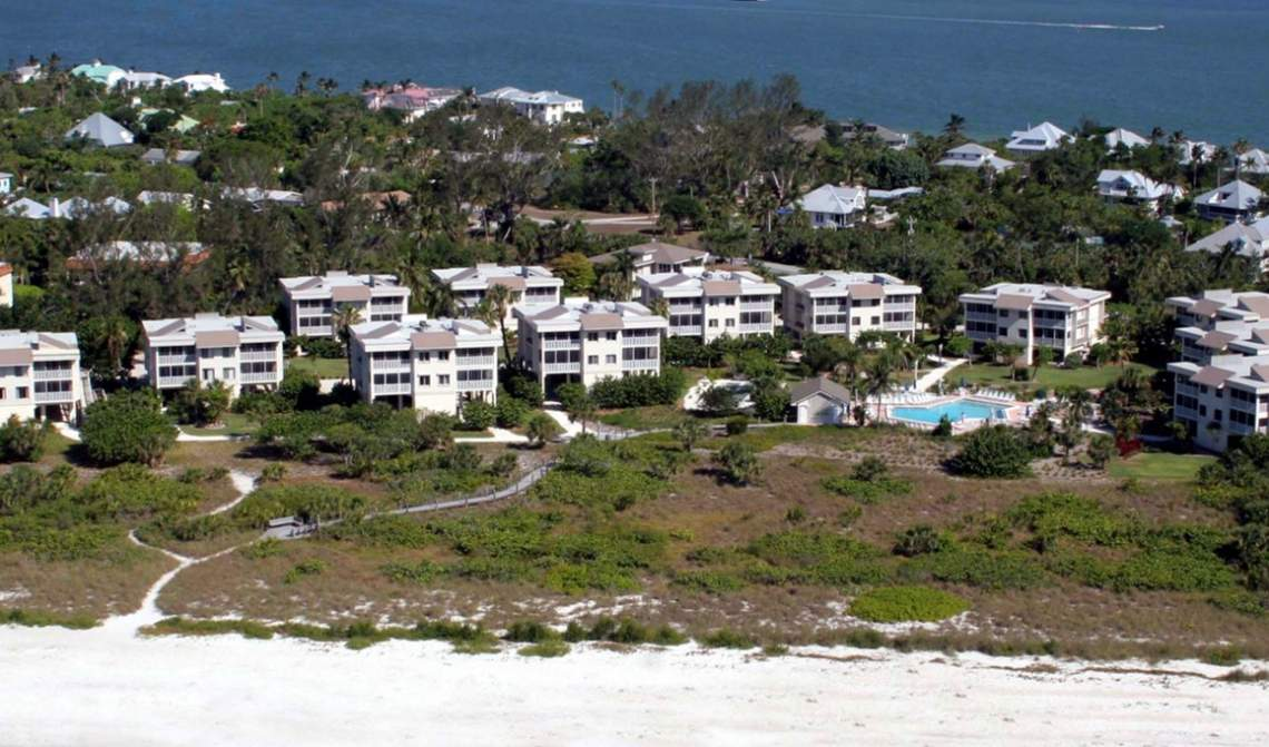 Beach Front Condo Living on Sanibel Island